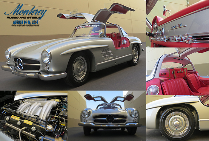 01 Jul Iconic 1956 Mercedes Benz 300 SL U201cGullwingu201d Coupe Launches The  Strongest Starting Line Up In Our Monterey Auction History
