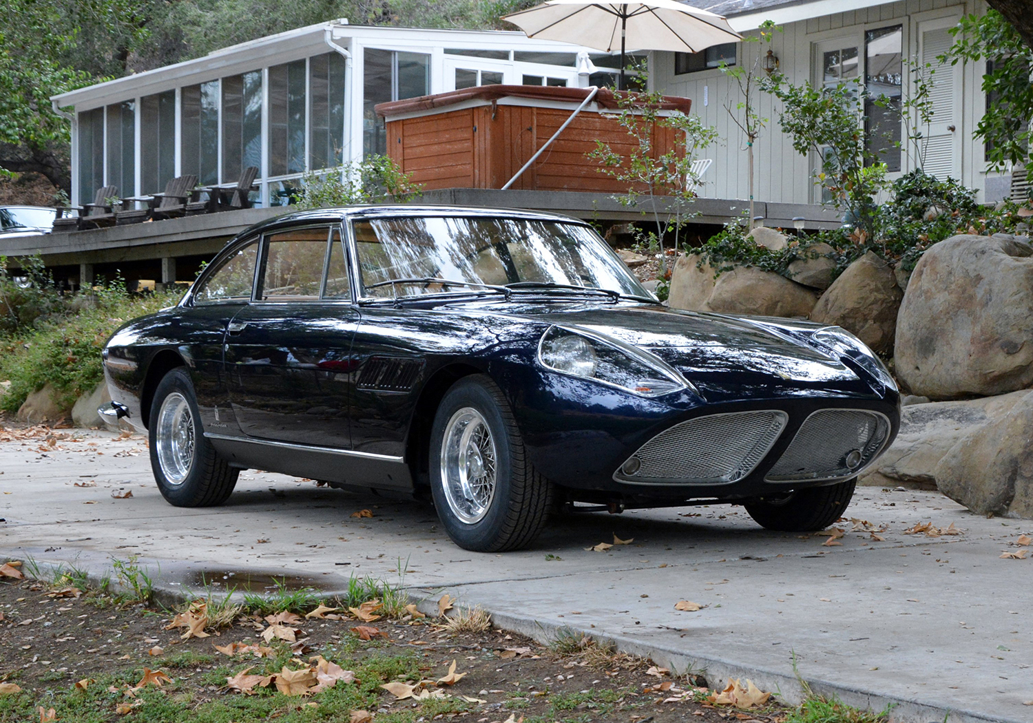 Russo and steele highly exotic one off 1965 ferrari 330 gt russo and steele highly exotic one off 1965 ferrari 330 gt shark nose with important ownership history to cross the block at russo and steeles 2016 vanachro Images