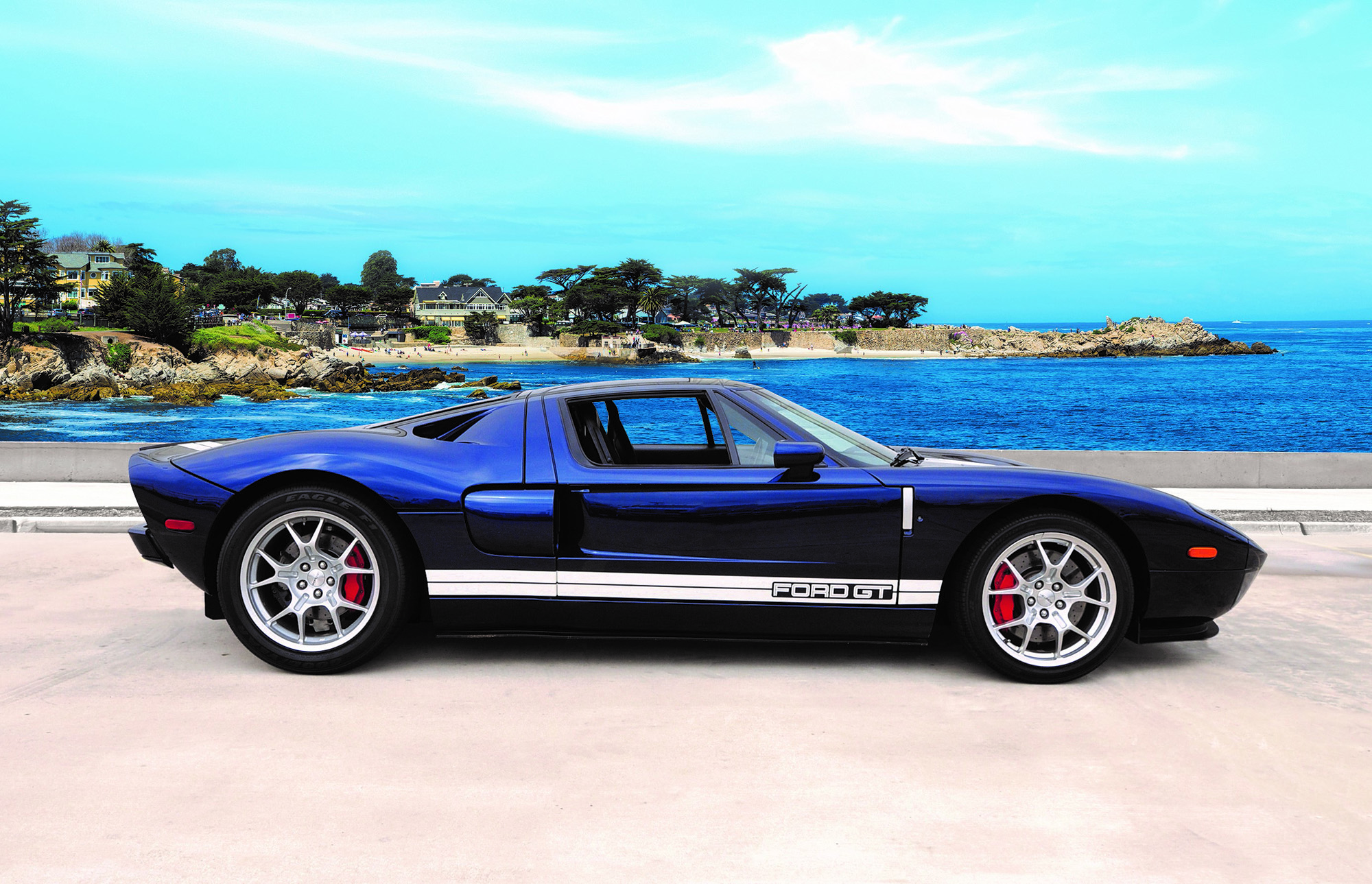 The Consignor Purchased Pb  From Fords Svt Special Vehicle Team At An Auction Held During The Ford Gt Rally  Event At The Shelby Automobiles