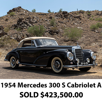 1954 Mercedes 300 Results 2