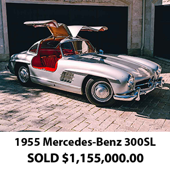 1955 Mercedes 300 SL Results 2