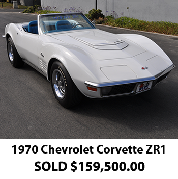 1970 Corvette ZR1 Results 2