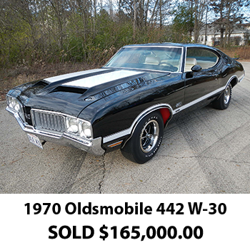 1970 Olds 442 Coupe Results 2